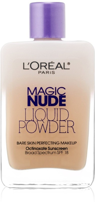 LOreal Paris Magic Nude Liquid Powder 322 Foundation(Sand Beige, 26 ml)