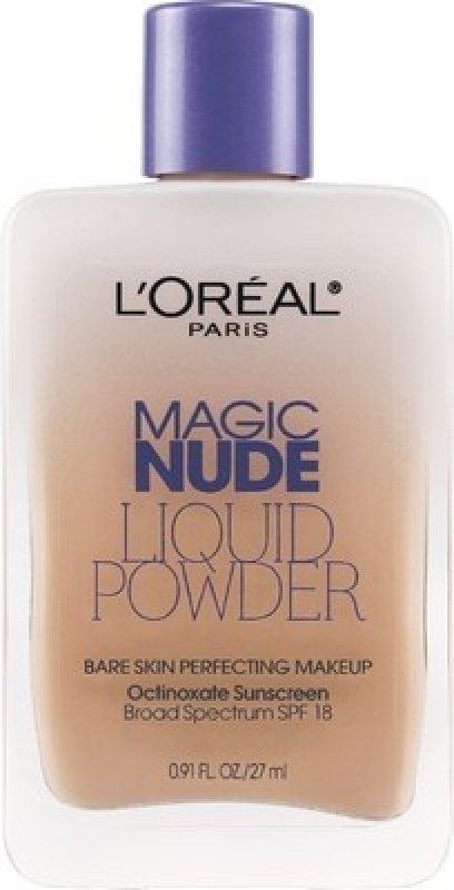 L'Oreal Paris Magic Nude Liquid Powder  Foundation(Sand Beige - 322, 27 ml)
