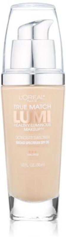 L'Oreal Paris True Match Lumi Healthy Luminous Makeup Foundation(Soft Ivory, Classic Ivory, 30 ml)