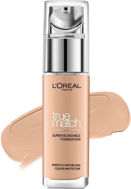 LOreal Paris True Match Foundation(N6 Honey, 30 ml)