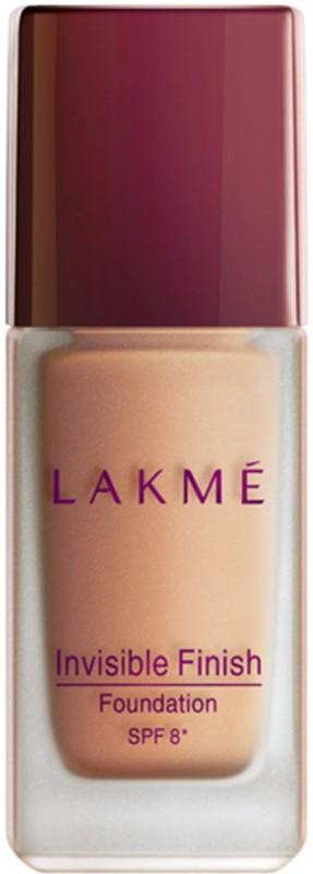 Lakme Invisible Finish SPF 8 Foundation(Shade 04, 25 ml)