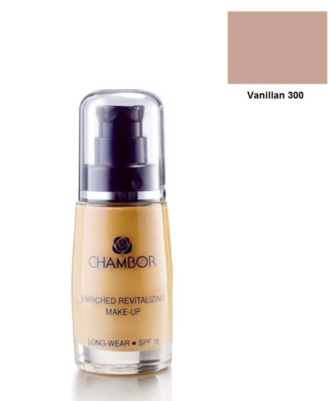 Chambor Enriched Revitalizing Foundation(300 Vanilla, 30 ml)