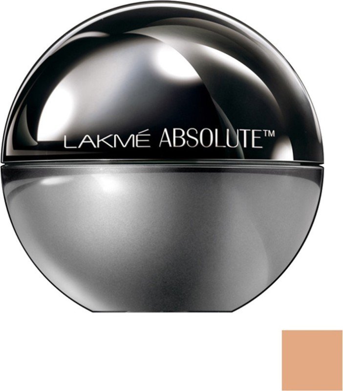 Lakme Absolute Mattreal Skin Natural Mousse SPF 8 Foundation(Almond Honey - 06, 25 g)