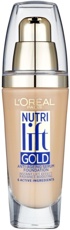 L'Oreal Paris Nutri Lift Gold Anti-Ageing  Foundation(BEIGE GLOW - 170, 25 ml)