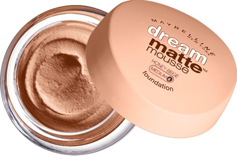 Maybelline Dream Liquid Mousse Foundation(Honey Beige - Medium 4, 18 g)