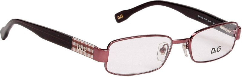 Dolce & Gabbana Full Rim Rectangle Frame(52 mm)