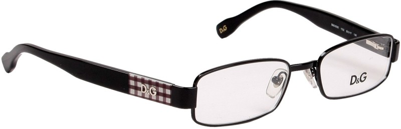 Dolce & Gabbana Full Rim Rectangle Frame(50 mm)