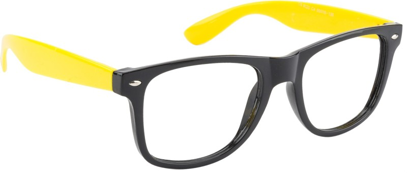 Glitters Wayfarer Sunglasses(Clear) image
