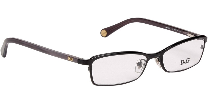 Dolce & Gabbana Full Rim Cat-eyed Frame(52 mm)