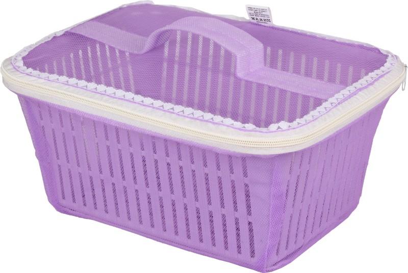 Tanyash Plastic Fruit & Vegetable Basket(Purple)