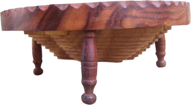 Marwar Wood Fruit & Vegetable Basket(Brown)