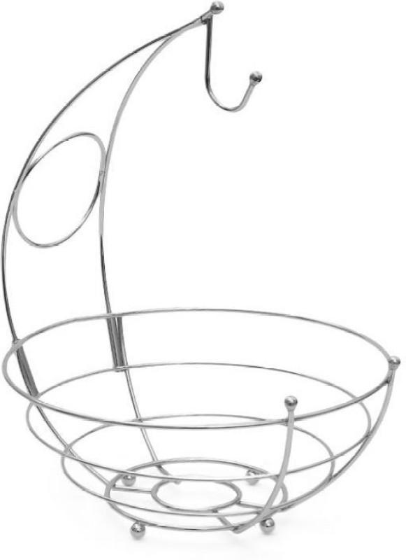 Disha Marketing Kangaroo Fruit Basket - Chrome Carbon Steel Fruit & Vegetable Basket(Steel)