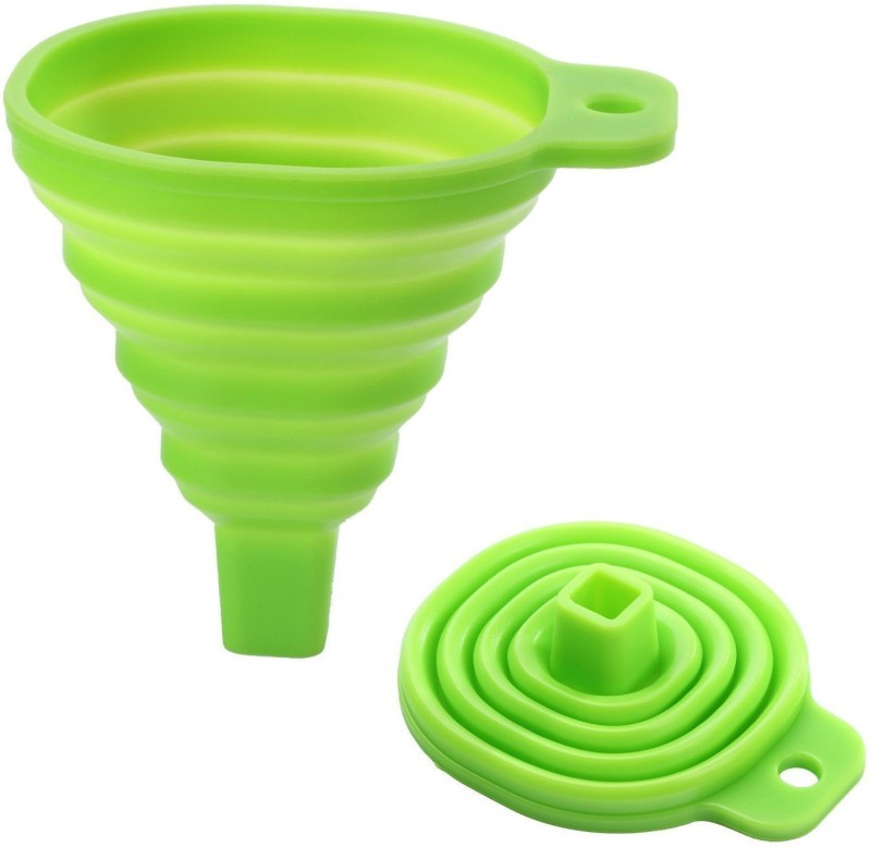 Evana Collapsible Silicone Funnel(Multicolor)