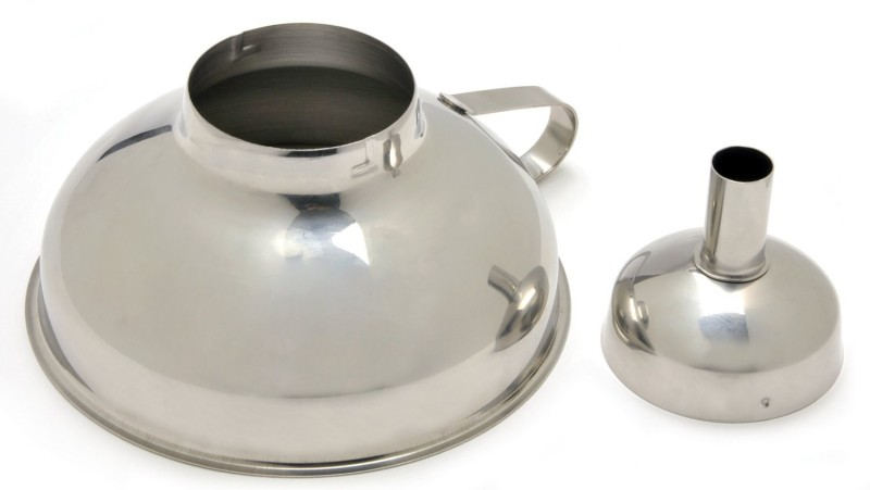 Norpro Stainless Steel Funnel Set(Silver, Pack of 1)
