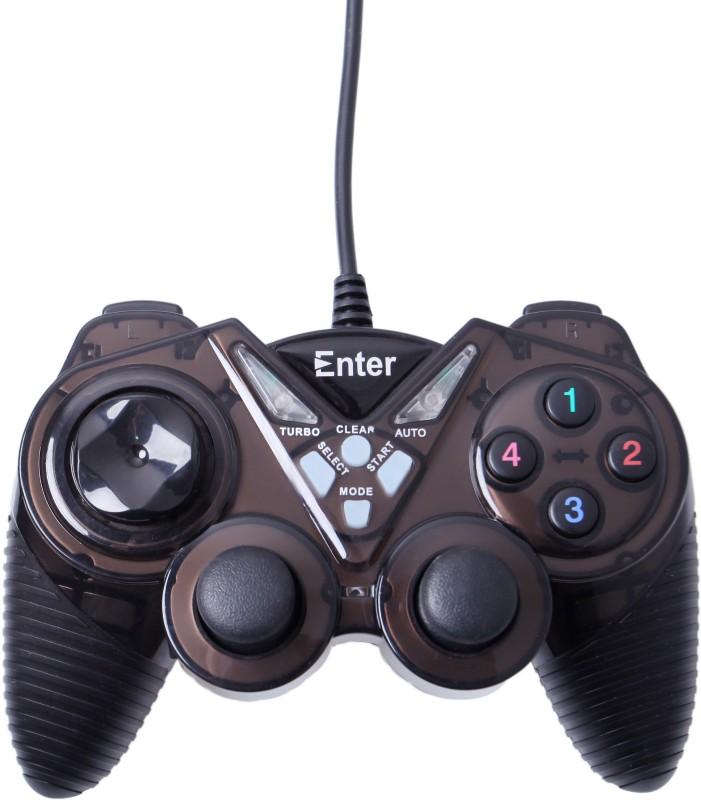 Enter Vibration E-GPV10  Gamepad(Black, For PC)