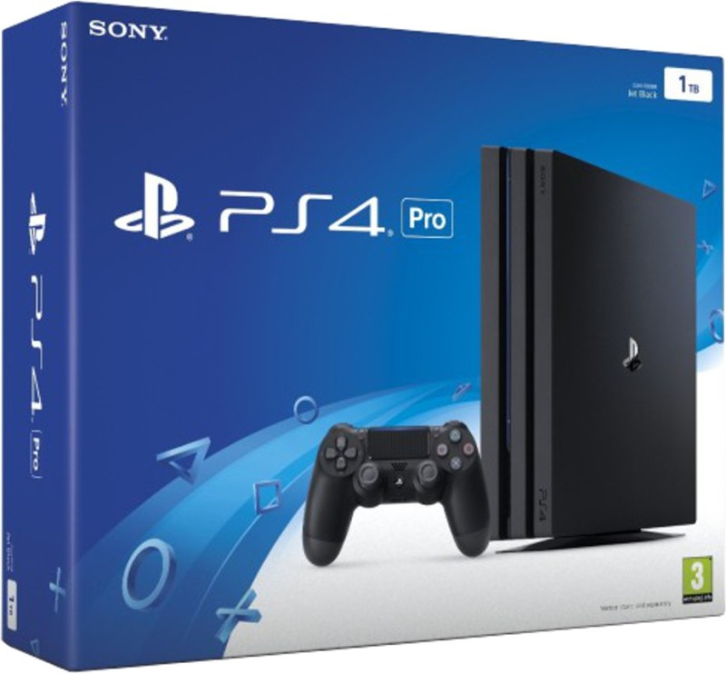Sony PlayStation 4 (PS4) Pro 1 TB(Black)