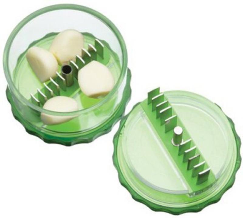 Divinext Pro No Touch Magic Dicer Garlic Press(Green)