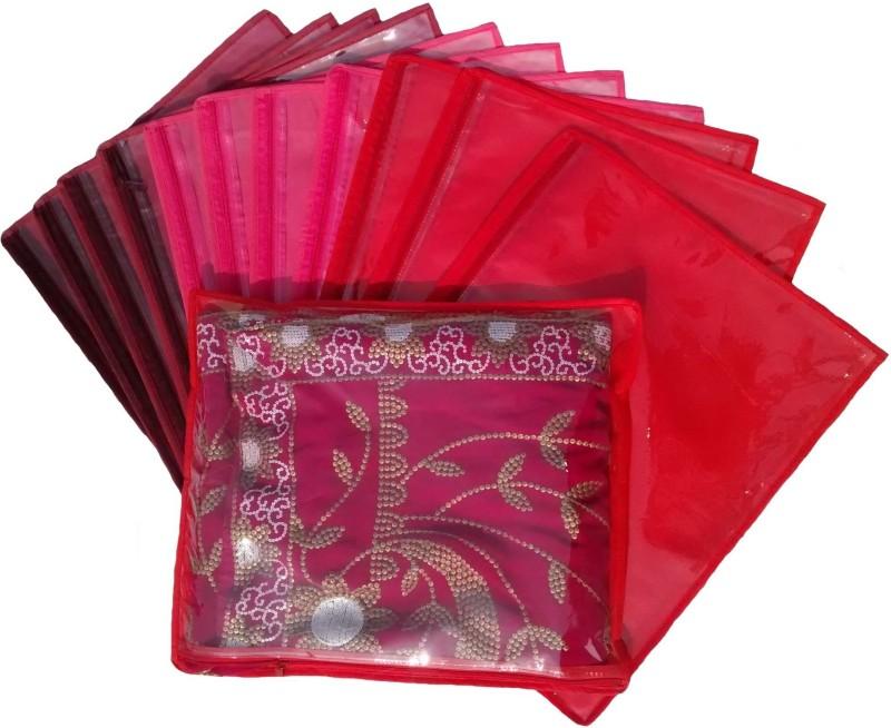 indi-bargain-non-woven-single-saree-cover-set-of-12multicolor