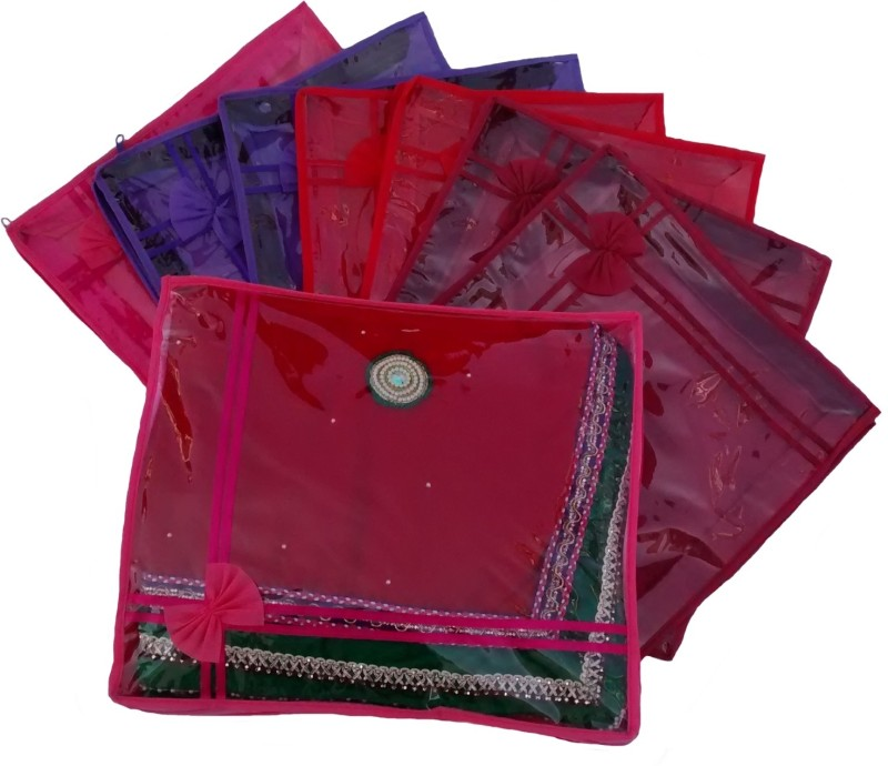 indi-bargain-designer-multi-color-set-of-8-transparent-double-saree-covermulticolor