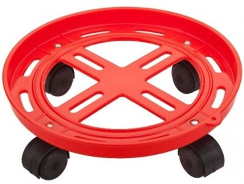 Hi-Tek Gas Cylinder Trolley(Red, Pack of 1)