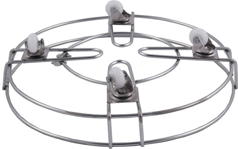 VSE Gas Cylinder Trolley(Silver, Pack of 1)