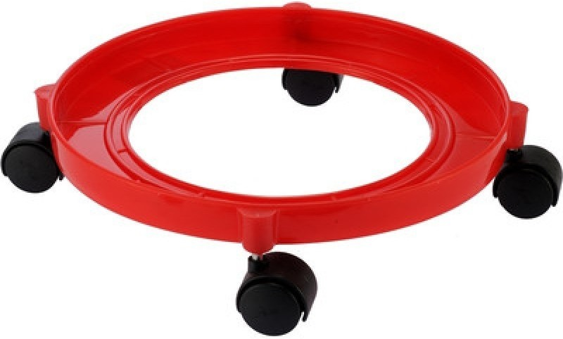 Paras Miracle Ware Gas Cylinder Trolley(Red, Pack of 1)
