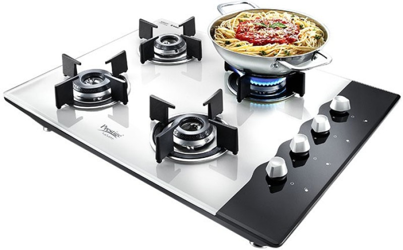 Prestige HobTop Glass Manual Gas Stove(4 Burners)