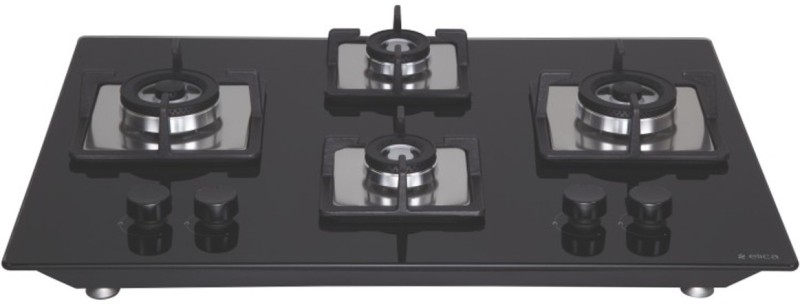 ELICA FLEXI BRASS HCT 470 DX Hob Glass Automatic Gas Stove(4 Burners)