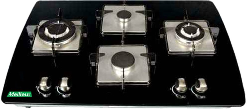 Meilleur Glass Automatic Gas Stove(4 Burners)