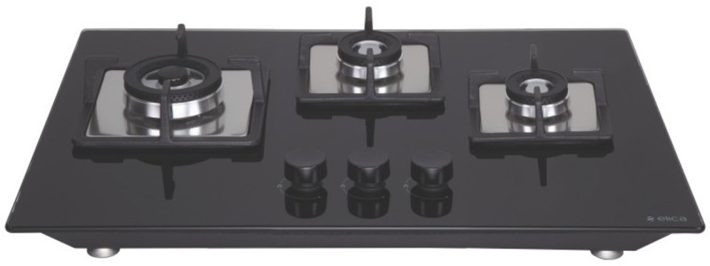ELICA Glass Automatic Gas Stove(3 Burners)