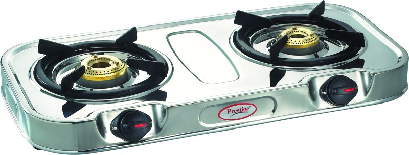 Prestige Royale Eco Stainless Steel Stainless Steel Manual Gas Stove(2 Burners)