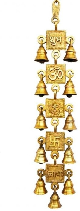 Aakrati Brass Decorative Bell(Yellow, Pack of 1)