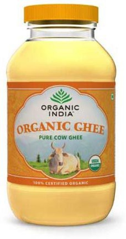 Organic India Pure Cow Ghee 500 ml Plastic Bottle
