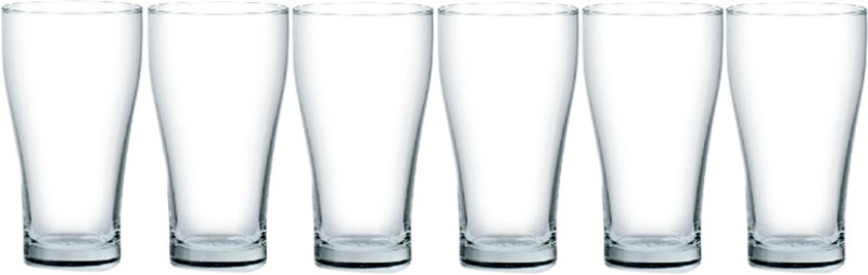 Ocean 1015 Glass Set(425 ml, White, Pack of 6)