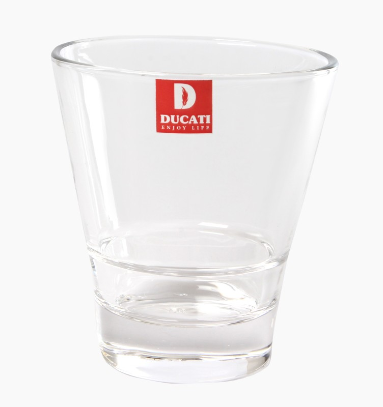 Ducati CRYSTALLITE 5 Glass Set(Glass, 200 ml, Clear, Pack of 6)