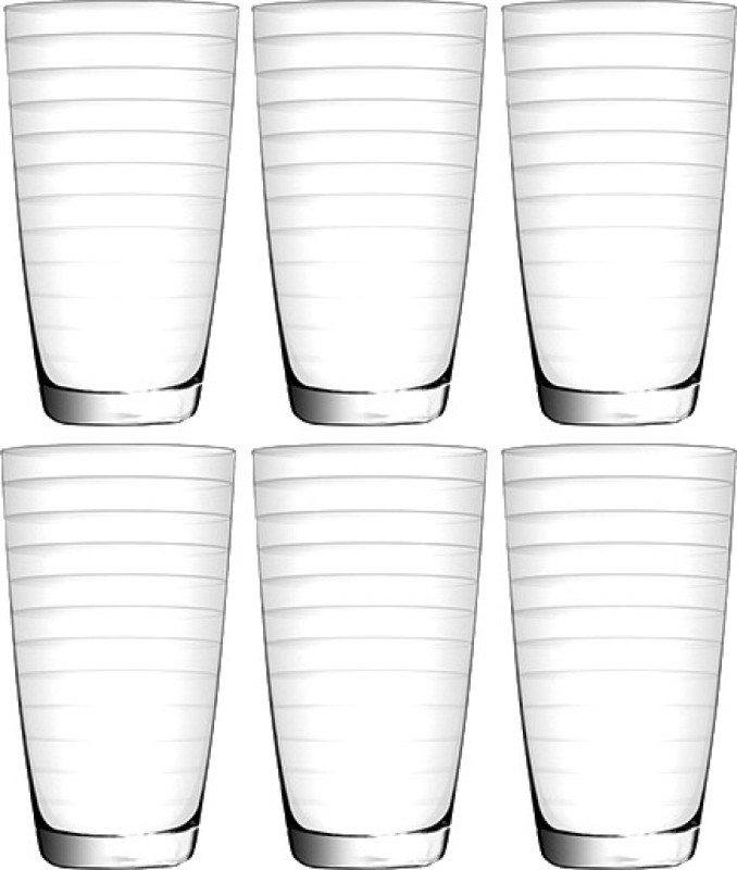 Union U355 Glass Set(Glass, 333 ml, Clear, Pack of 6)