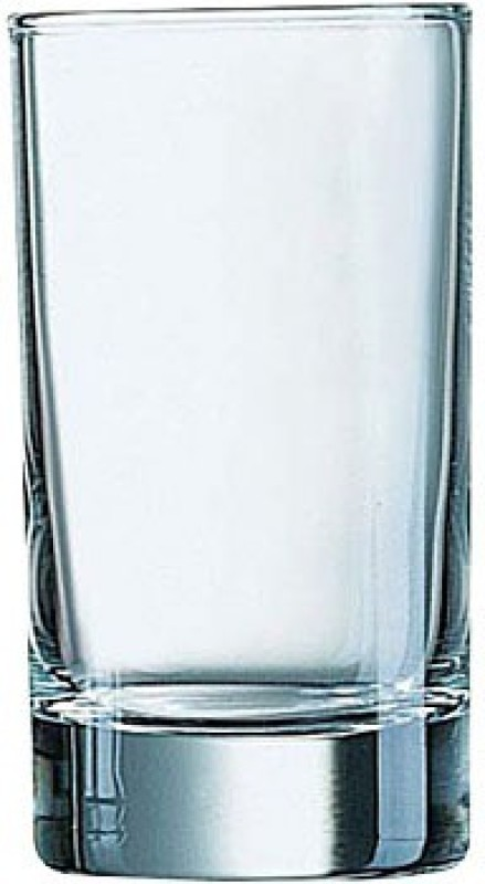 ARCOROC ISLANDE TUMBLER 15 CL Glass Set(Glass, 150 ml, Clear, Pack of 6)