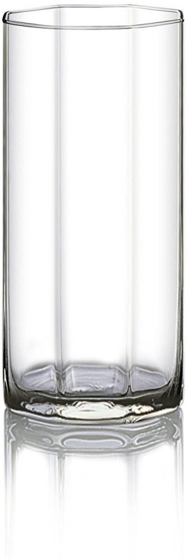 Ocean Octagon 325 ml Glass Set(Glass, 325 ml, Clear, Pack of 6)