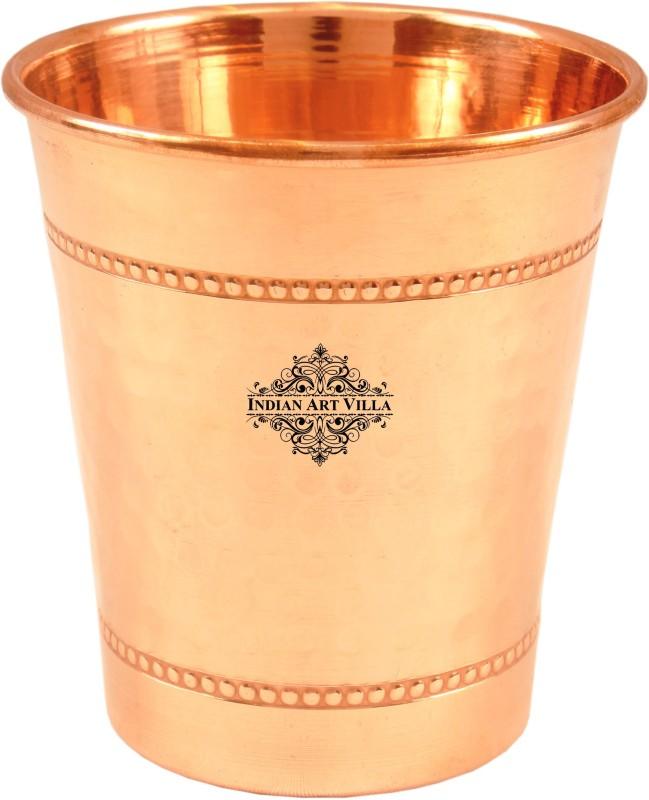 IndianArtVilla Glass(260 ml, Brown, Pack of 1)