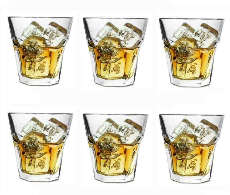 Aditya 6 - Piece Bar Set(Glass)