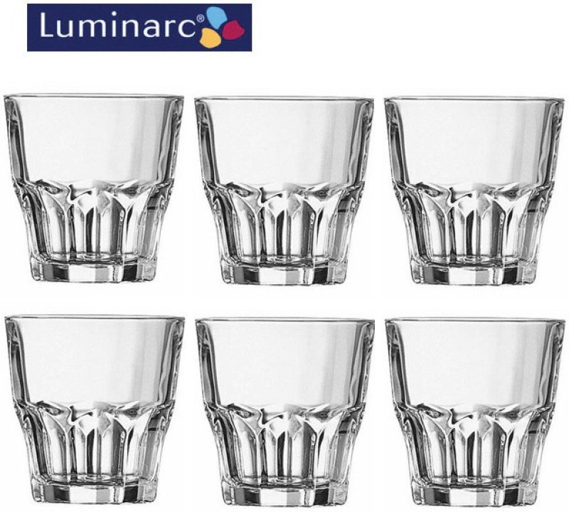 LUMINARC G3653 Glass Set(Glass, 240 ml, Clear, Pack of 6)
