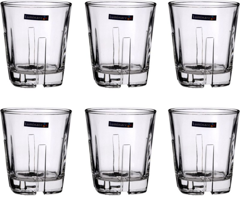 LUMINARC Glass Set(500 ml, Clear, Pack of 6)