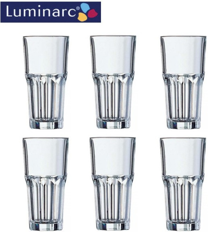 LUMINARC G3655 Glass Set(Glass, 360 ml, Clear, Pack of 6)