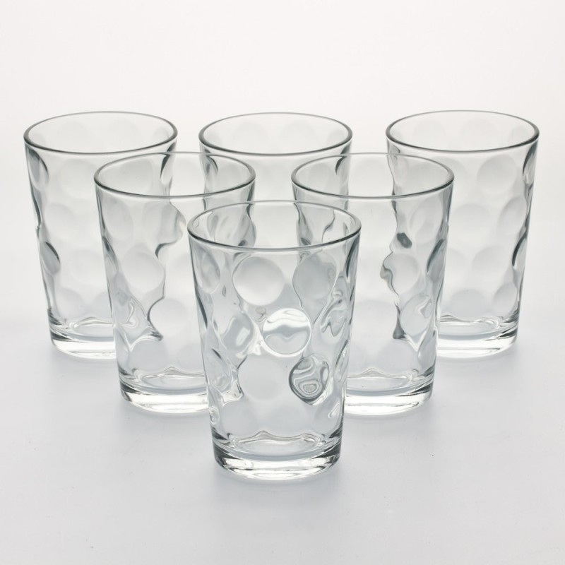 Pasabahce 52883 Glass(Glass, 210 ml, Clear, Pack of 6)