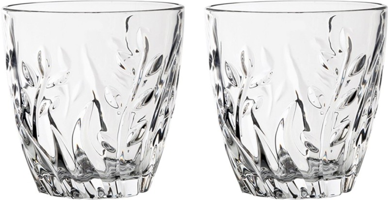 7kases Glass Set(355 ml, Clear, Pack of 2)