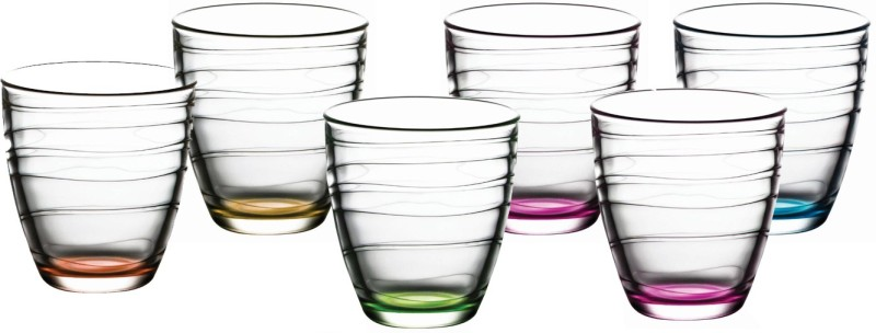Pasabahce 95730 Glass Set(Glass, 280 ml, Clear, Pack of 6)