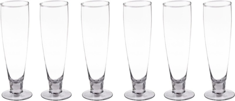Golddust Limen Sine Cool Trac Wine- Set of 6 Glass Set(Glass, 230 ml, Clear, Pack of 6)