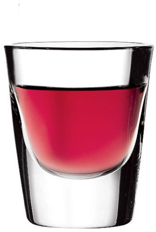 Pasabahce 52134 Glass(Glass, 30 ml, Clear, Pack of 6)