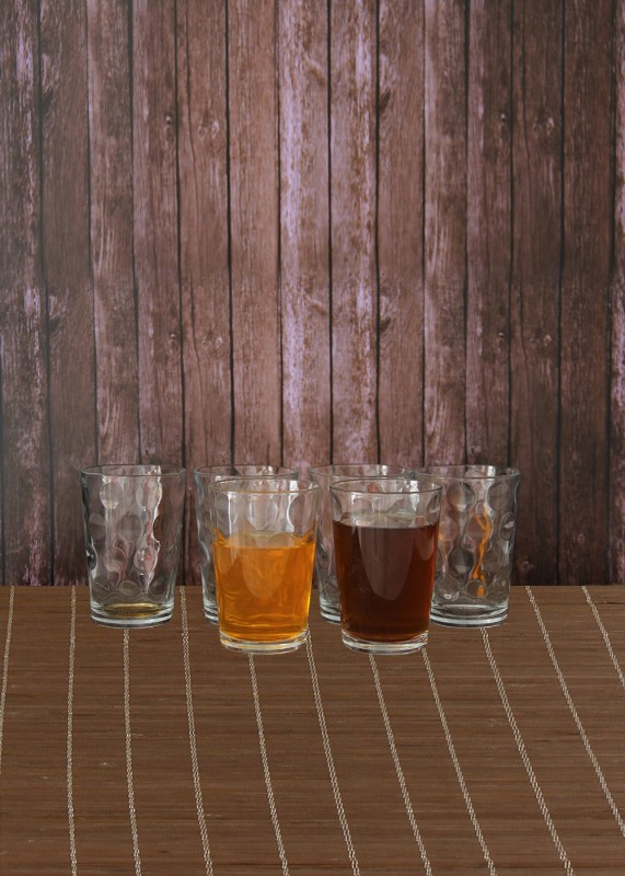 Pasabahce Space 52883 Glass Set(Glass, 208 ml, Clear, Pack of 6)
