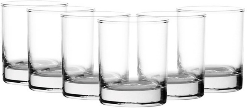 Ocean San Marino Water Glass 290ml Glass Set(Glass, 290 ml, Clear, Pack of 6)